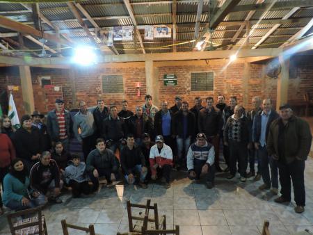 Sessão Ordinária Descentralizada Grande Público presente na localidade de Pinhalzinho.